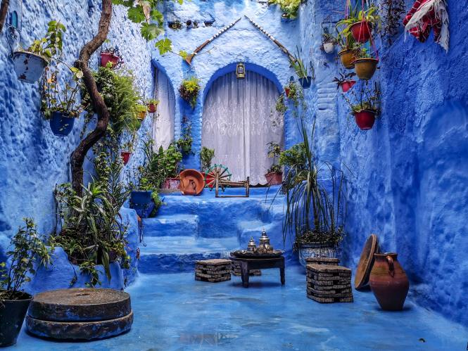 Chefchouen in Morocco