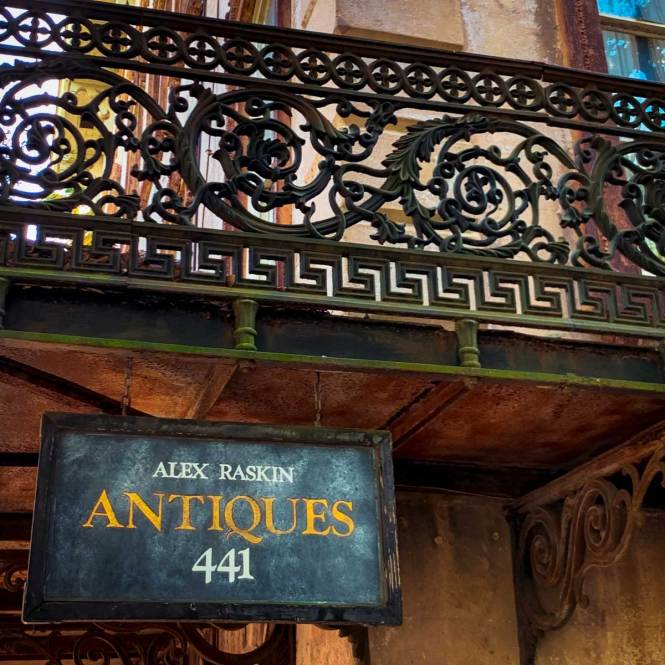 Visit Alex Raskin Antiques, just one of many things to do in Savannah, Georgia