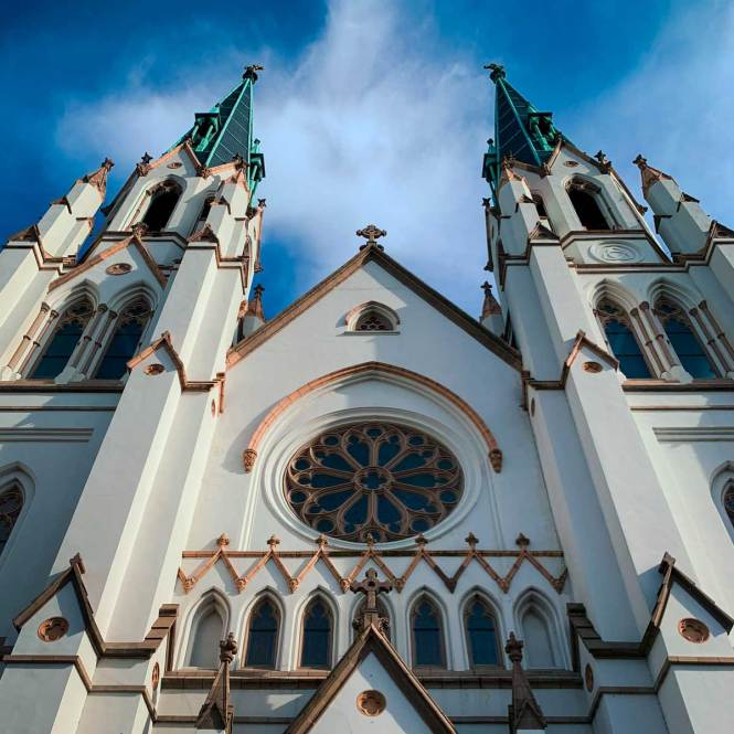 St. John the Baptist Cathedral, just one of many incredible things to do in Savannah, Georgia