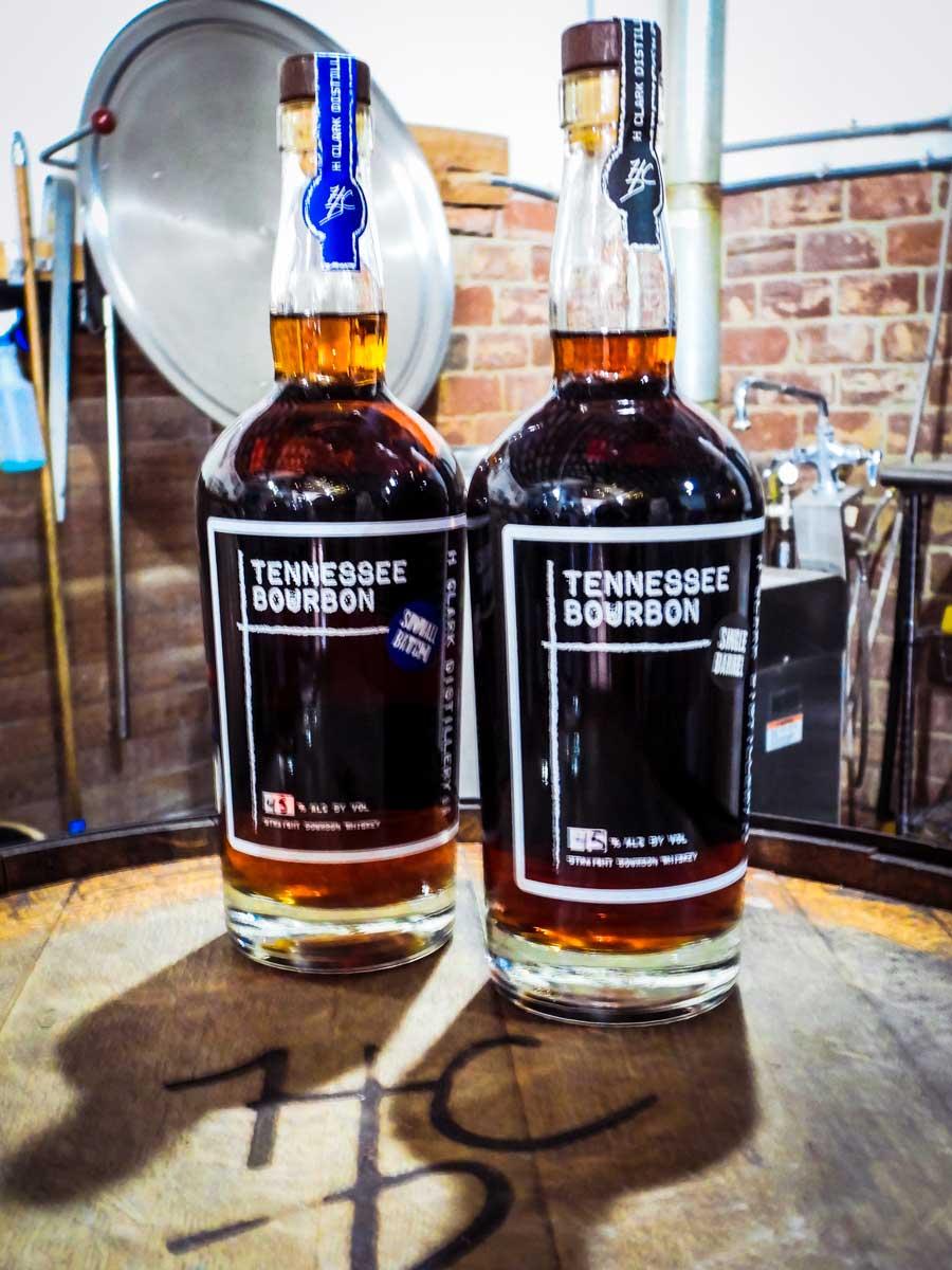 H Clark Distillery bourbon
