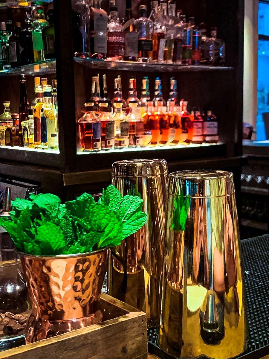 Harpeth Hotel's 1799 bar