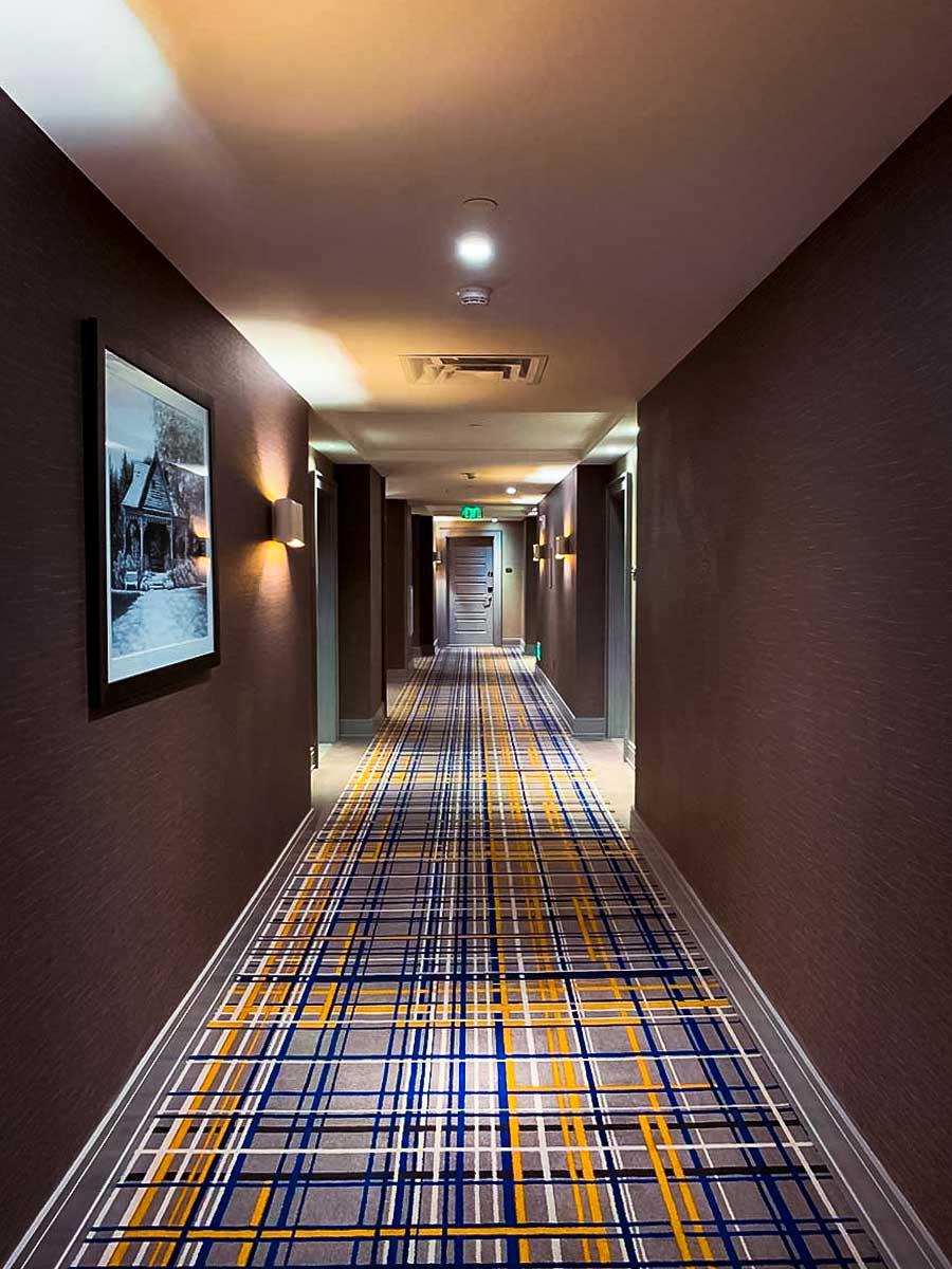 Harpeth Hotel hallway in Franklin TN