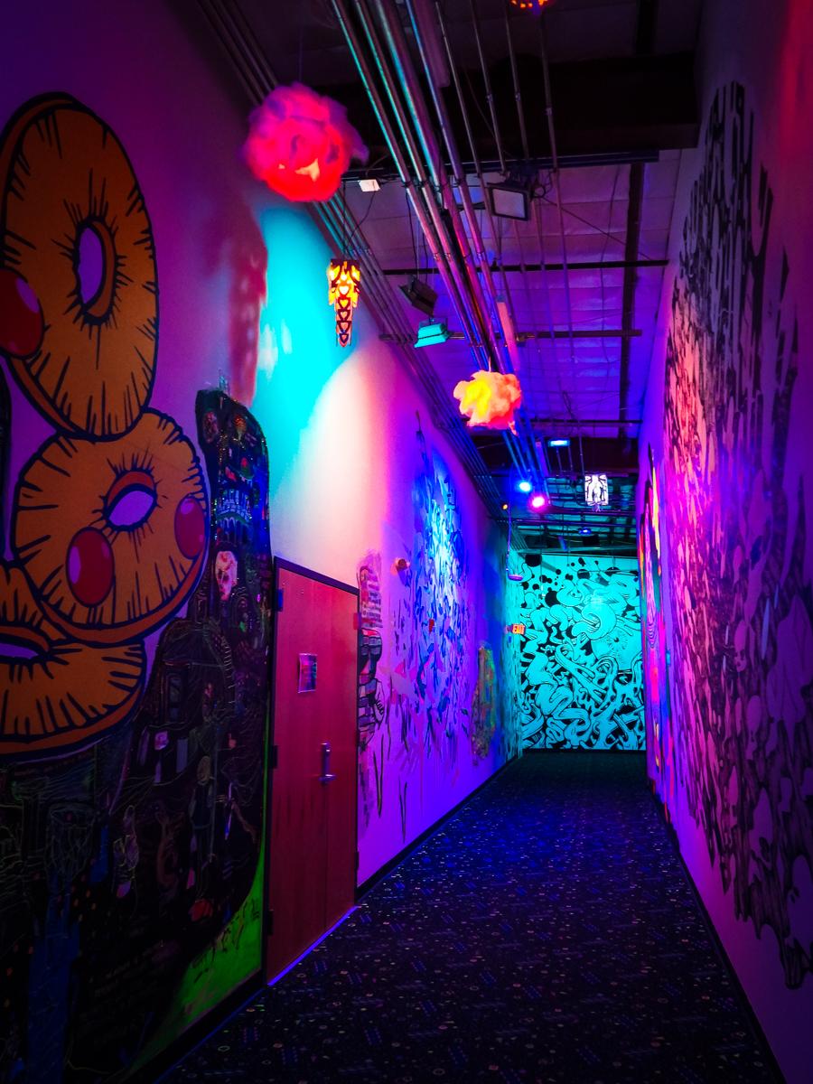 HOER exit hallway