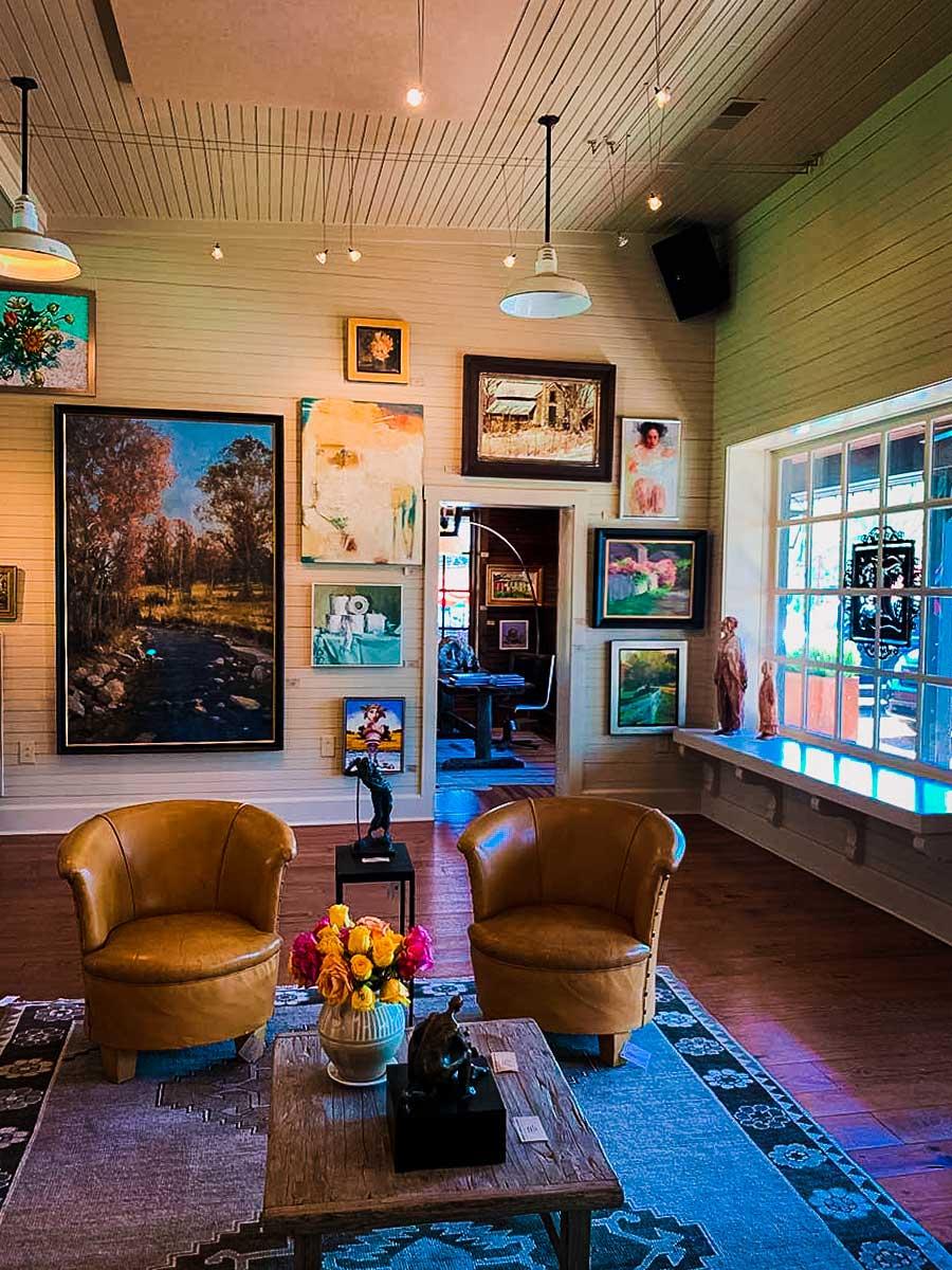 Leiper's Creek Gallery interior