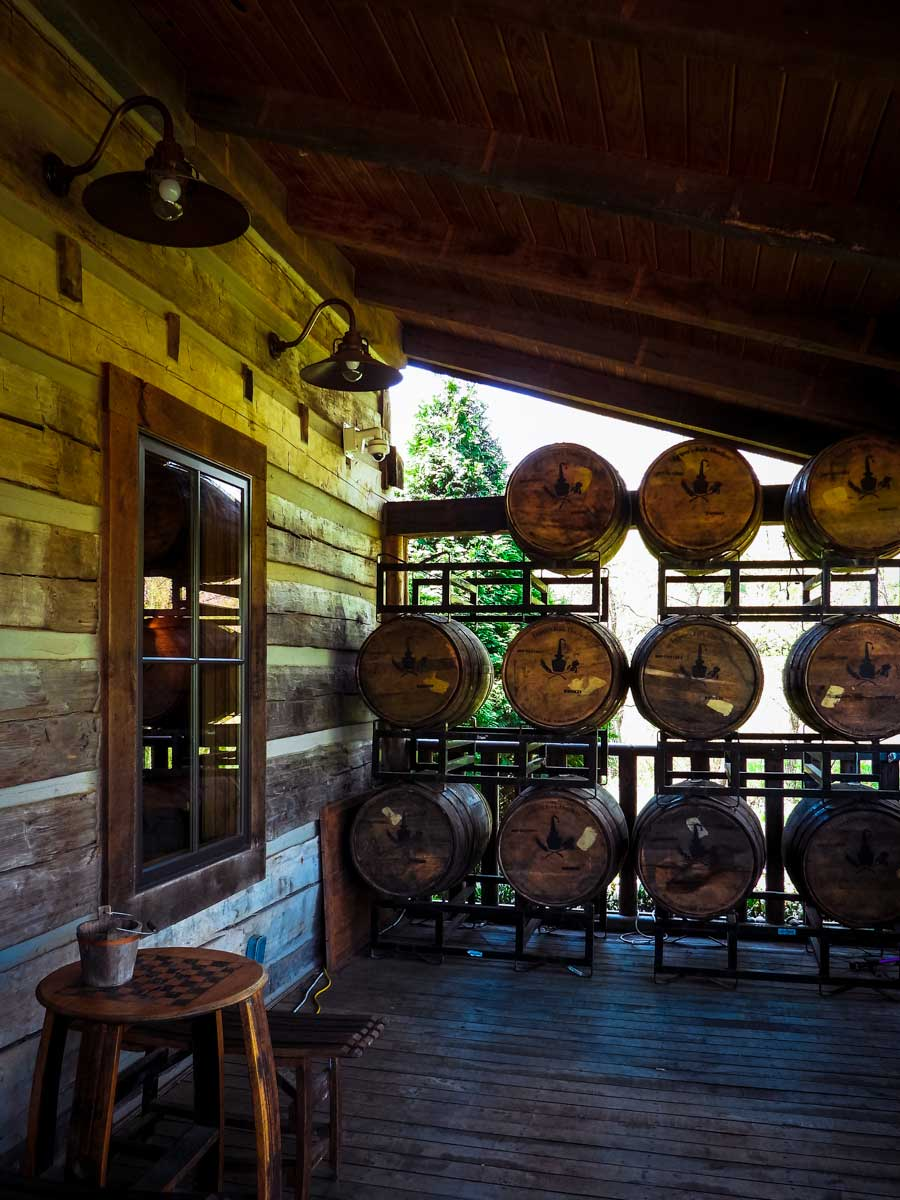 Leiper's Fork Distillery porch, one of many awesome things to do around Franklin, TN