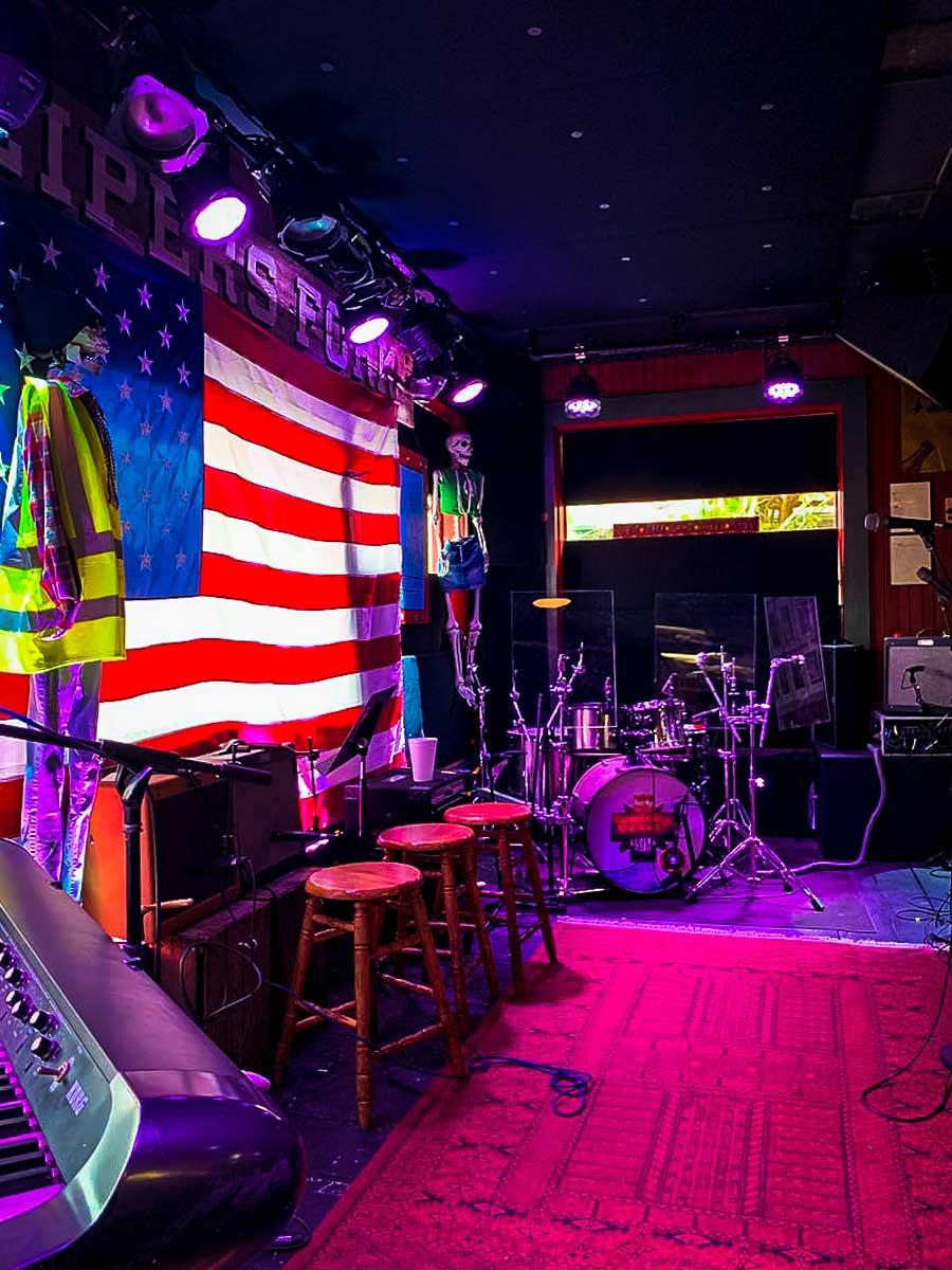 Puckett's stage, one of many awesome things to do around Franklin, TN