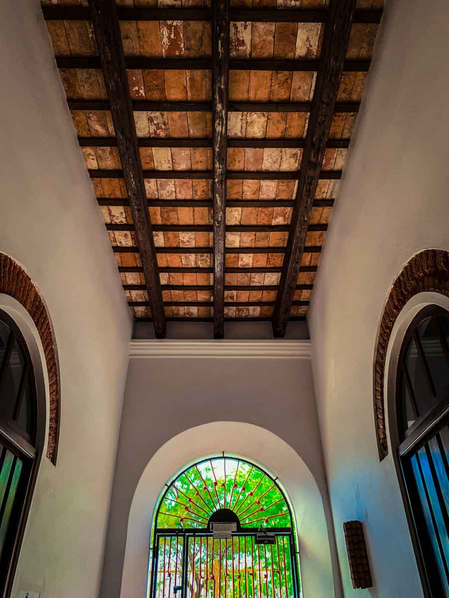 Casa Sol ceilings