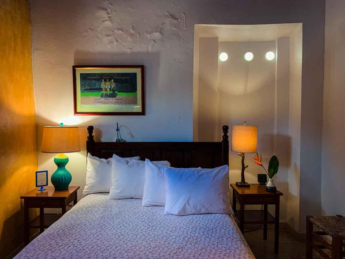 Casa Sol B&B in Old San Juan, bed