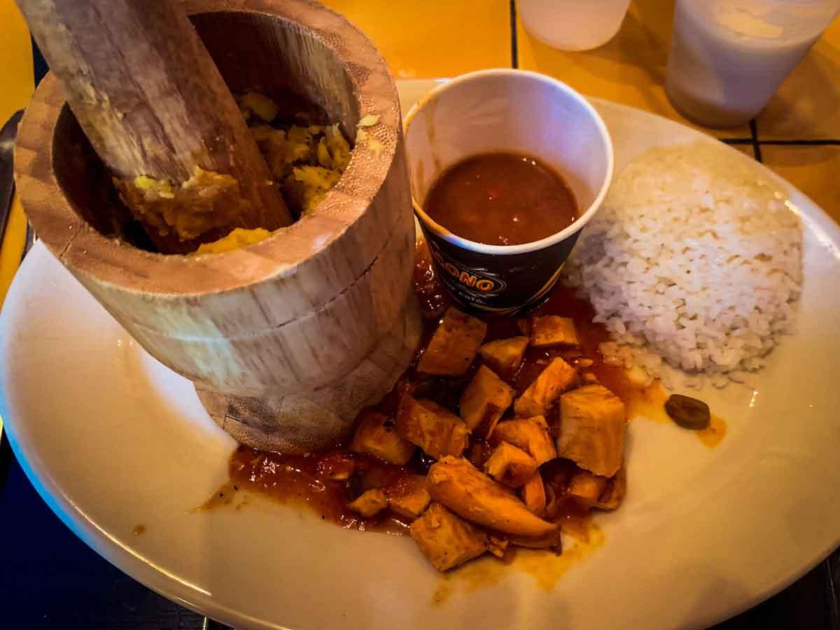 old san juan food tour mofongo