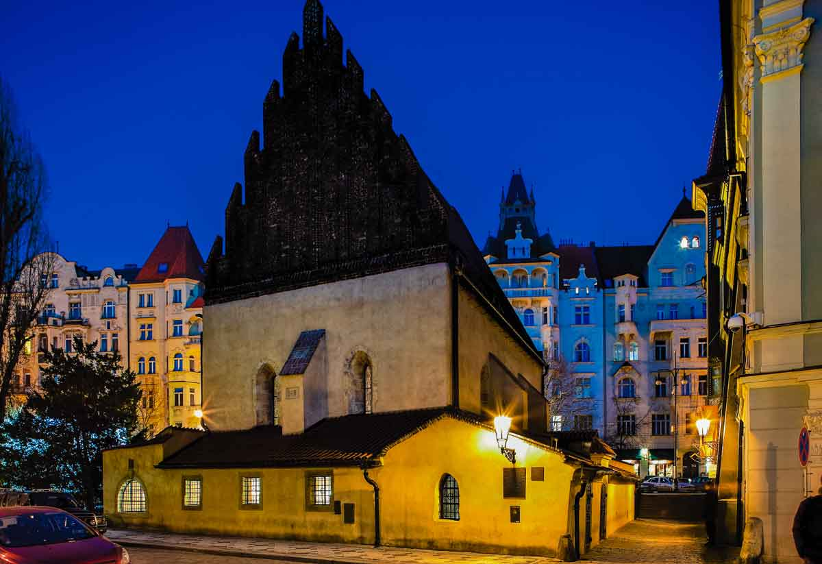 Exterior of the Old-New Synagogue
