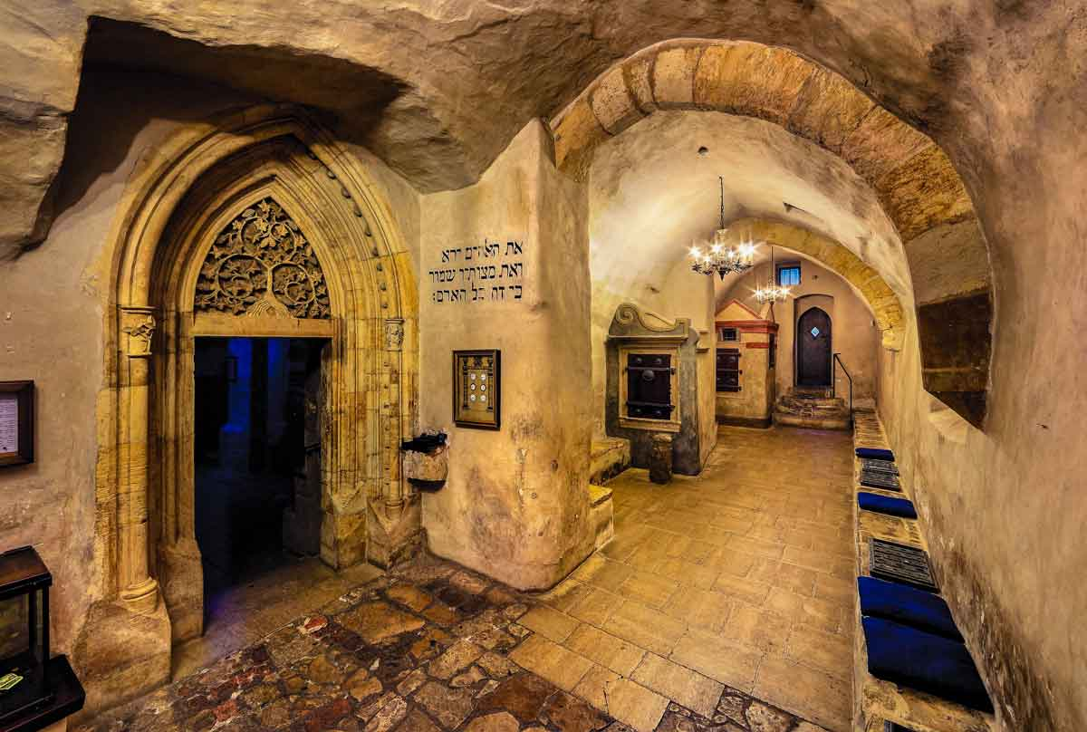 Interior of the Old-New Synagogue
