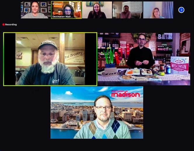 exploring all the cool things to do in madison wisconsin during a virtual press trip