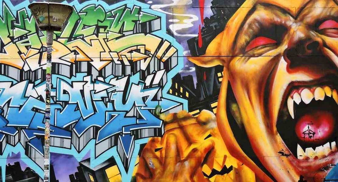 Freetown Christiania graffiti