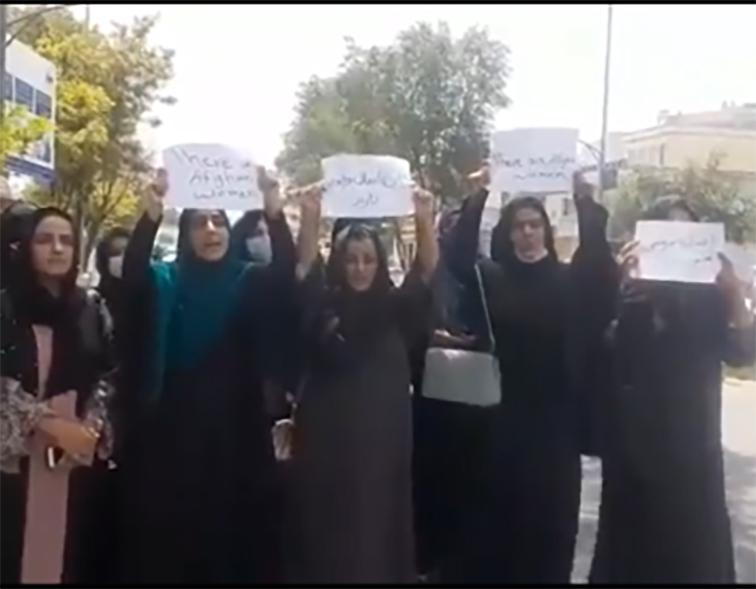 Washington verse des larmes de crocodile pour les femmes afghanes