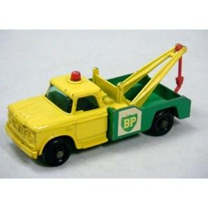 Matchbox Regular Wheels (13D3) BP Dodge Tow Truck