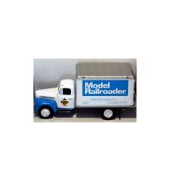 first gear model railroader 1951 ford dry goods box truck [ 1600 x 1710 Pixel ]
