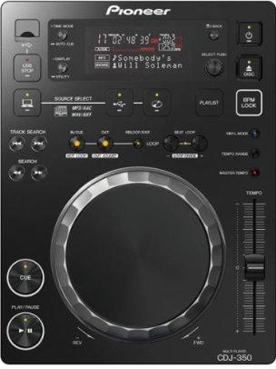 best dj cd player Pioneer CDJ-350
