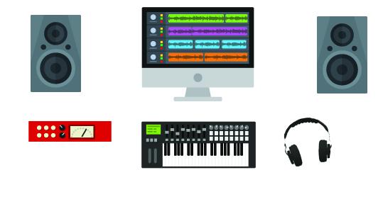 home recording studio under $600