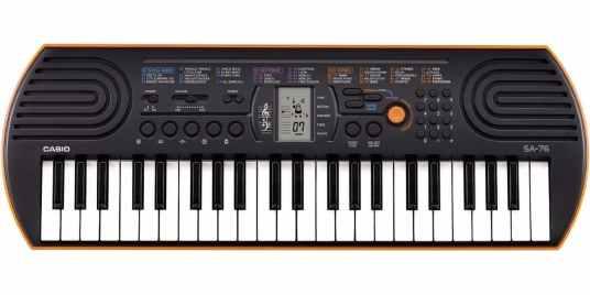 Casio SA76 digital piano