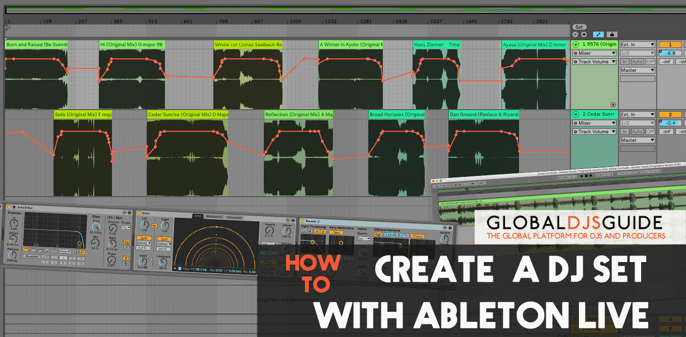 How to create a DJ set with Ableton Live