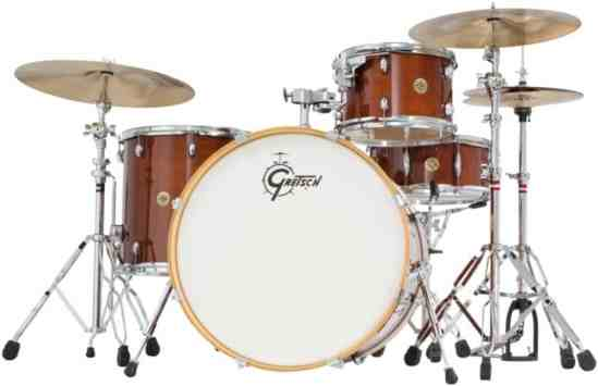 Gretsch CM1E824SWG Catalina Maple CM1 4-Piece Shell Pack with 22 Bass Drum - Walnut Glaze