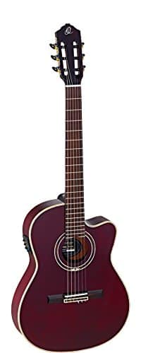 Ortega Guitars FEEL SERIES 6 String Acoustic-Electric Guitar RCE138-T4STR