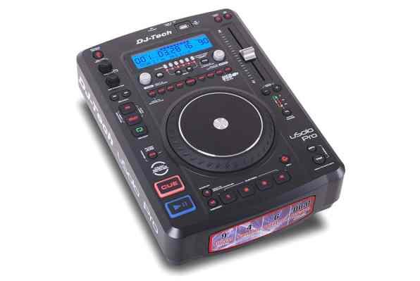 DJTECH USOLOPRO Digital DJ Turntable