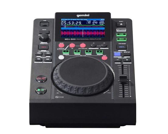 Gemini MDJ Series MDJ-500 Professional Audio DJ Media Player