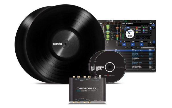Denon DJ DS1 | Pocket-Sized Digital Vinyl Audio Interface with full Serato DJ Pro & Serato DVS download (2-channel:24-bit:96kHz)