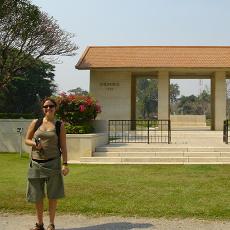 Kanchanaburi sightseeing.