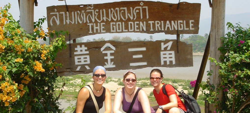 Golden Triangle in Chiang Rai, Thailand