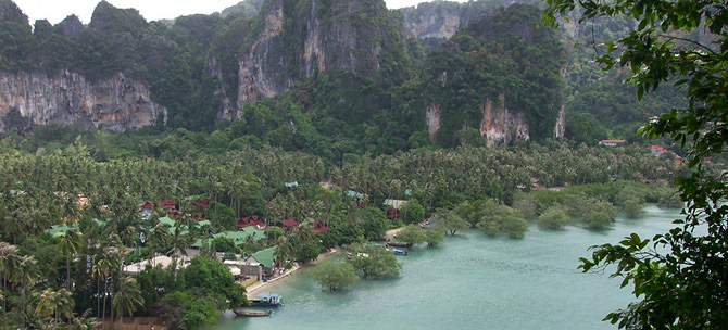 Railay Beach and Ton Sai views