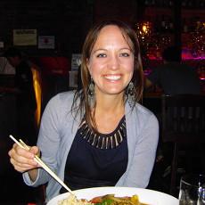 Thai dinner at Yum Yum Bangkok in Hell's Kitchen.