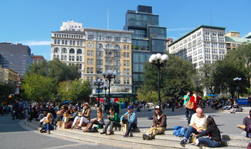 Union Square is a gathering place for every NYC soul.