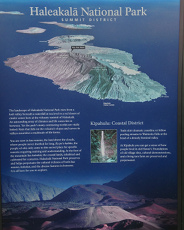 Haleakala National Park map