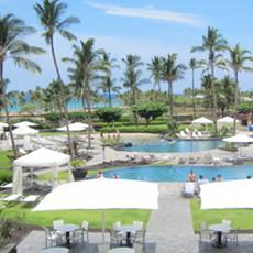 Marriott Beach Resort along A-Bay
