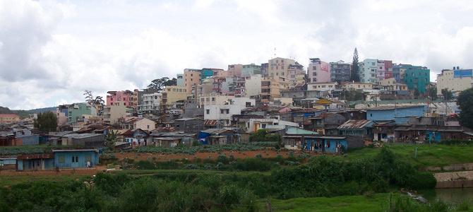 Colorful architecture in Da Lat