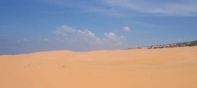 Gold - Red sands at Mui Ne