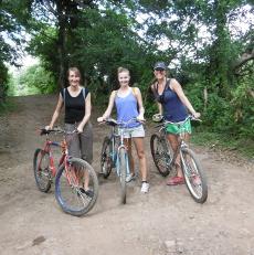threegirlsbikeridingC