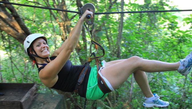 Zip-Lining in Puerto Vallarta with Canopy Nogalito