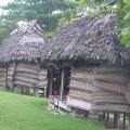 village huts in samoa