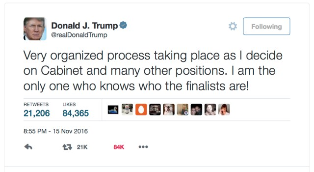 donald-j-trump-on-twitter-%22very-organized-process-taking-place-as-i-decide-on-cabinet-and-many-other-positions-i-am-the-only-one-who-knows-who-the-finalists-are%22-copy
