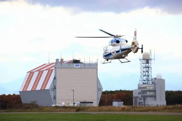 大樹航空宇宙実験場、SAVERH飛行試験(写真提供/JAXA)。