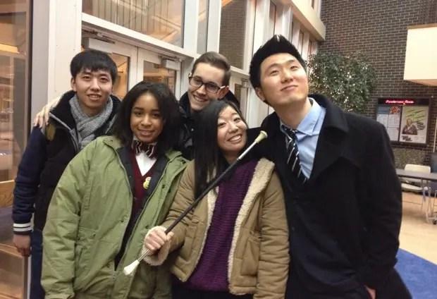 大学で仲良くなった、留学生の友達と。