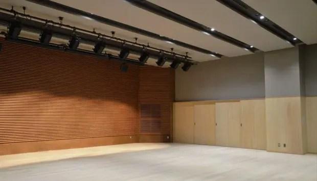 ホールや音楽スタジオも完備しているから、音楽活動やパフォーマンスの練習場をしても使える。