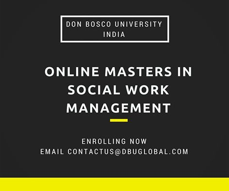 Online Masters in Social Work Management
