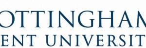 Nottingham Trent University banner logo