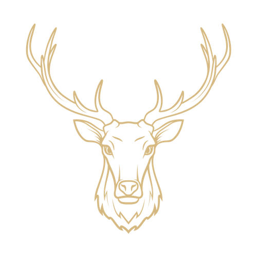 Grieves Pryce Gold Stag logo