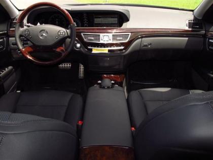 Export New 2013 MERCEDES BENZ S550 BASE BLACK ON BLACK