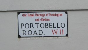 London Travel Blast from the Recent Past: Fight Jet Lag with Portobello Market